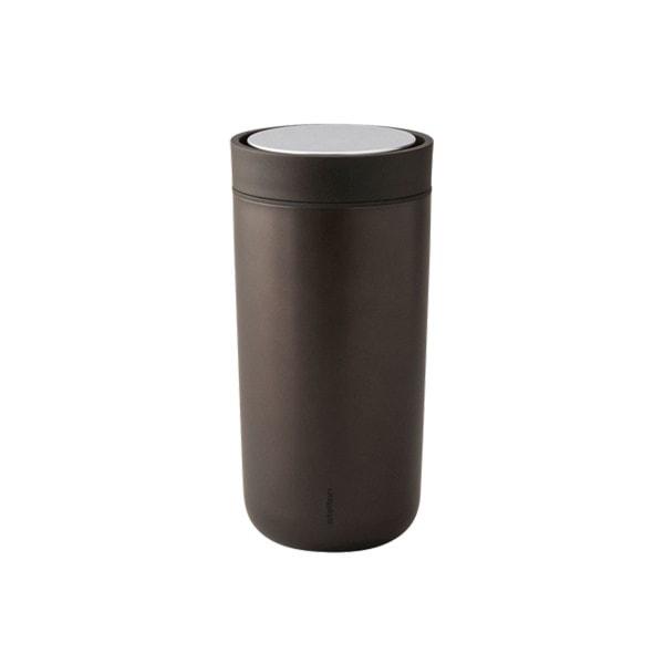 Stelton Trinkbecher To Go Click 0.2 l, metallic braun