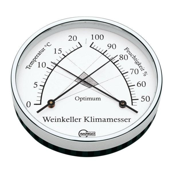 Barigo Weinkeller Klimamesser Komfortmeter