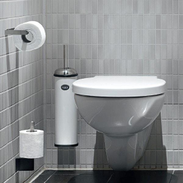 Vipp 11 WC-Bürste Wall weiß 43.5cm