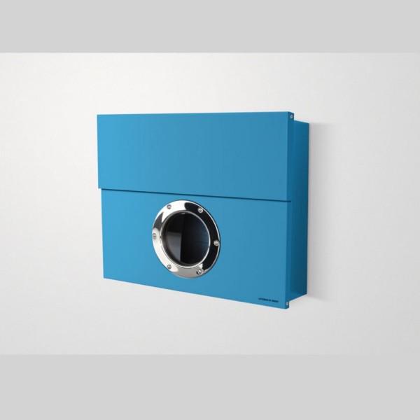 Radius Briefkasten LETTERMAN XXL blau