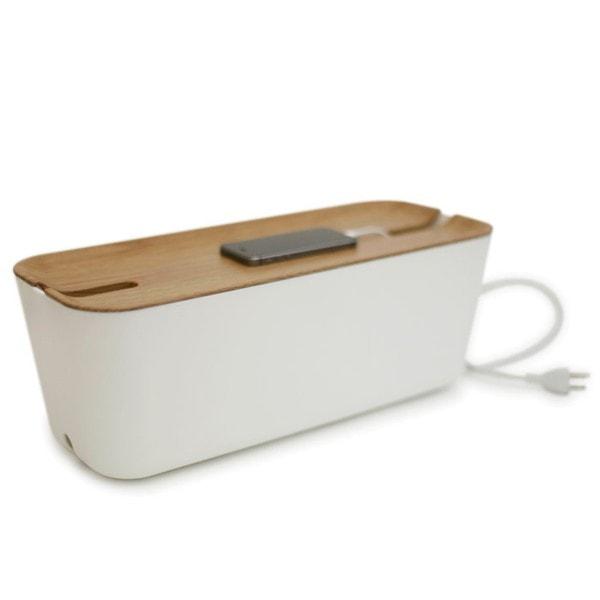Bosign Kabelbox HIDEAWAY XL Weiß - Natur