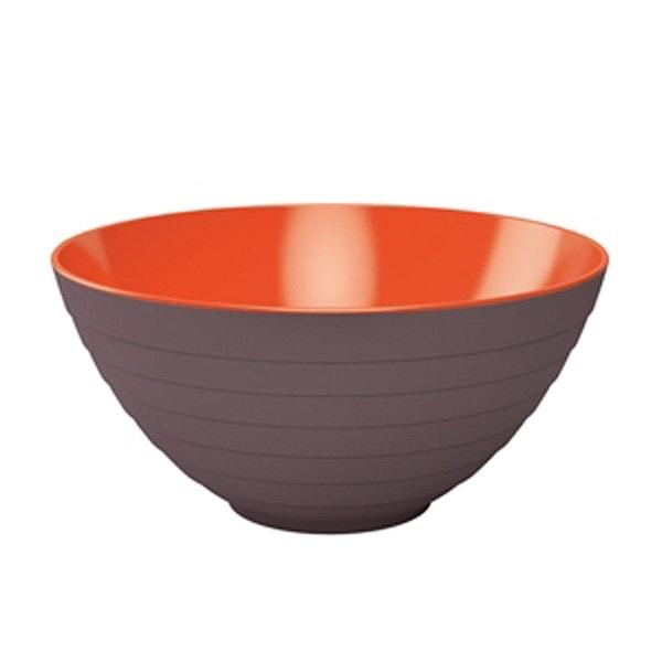 Zak designs Schüssel WAVE 28 cm stein-coral