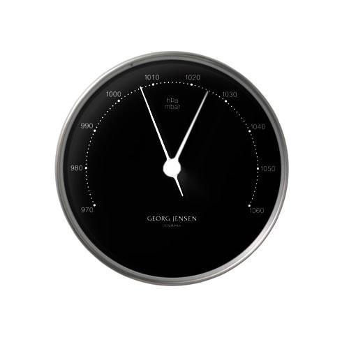Georg Jensen Barometer HENNING KOPPEL 10cm schwarz