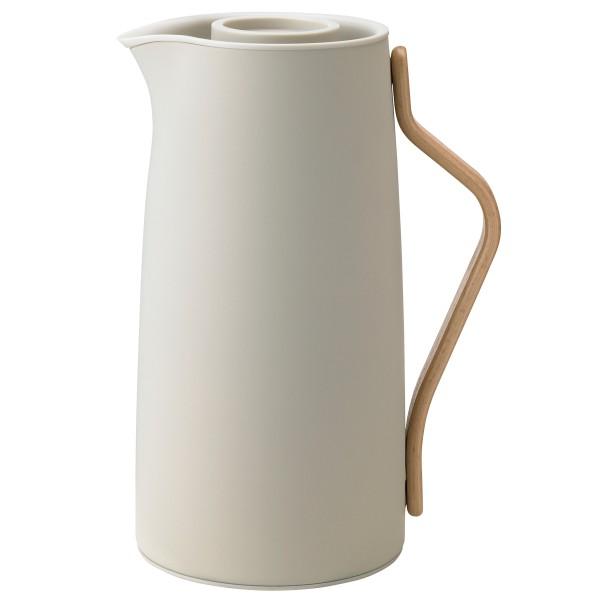 Stelton Kaffeeisolierkanne EMMA 1.2 l Sand matt