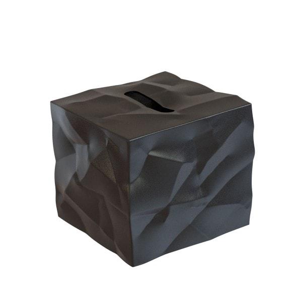 Klein und More Papiertücher-Box WIPY-CUBE schwarz