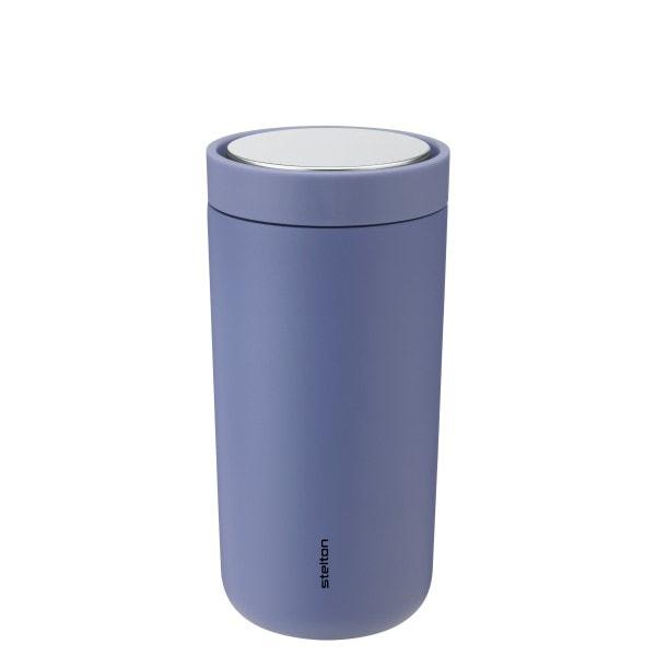 Trinkbecher To Go Click 0.4 l, Lupine-blau