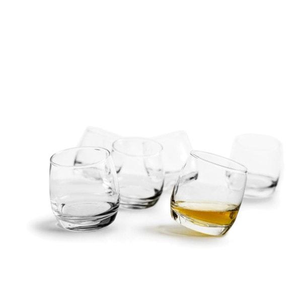 Sagaform Rocking Whisky Glas 6er-Set