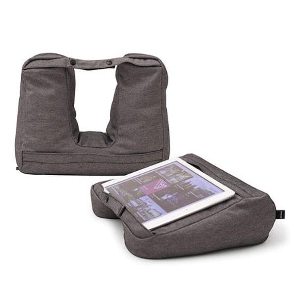 Bosign Tablet & Reise-Kissen grau