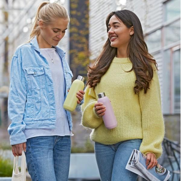 Stelton Trinkflasche KEEP COOL 0.6 l, matt rosa