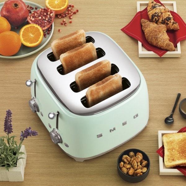 Smeg 4-Schlitz-Toaster - Farbwahl