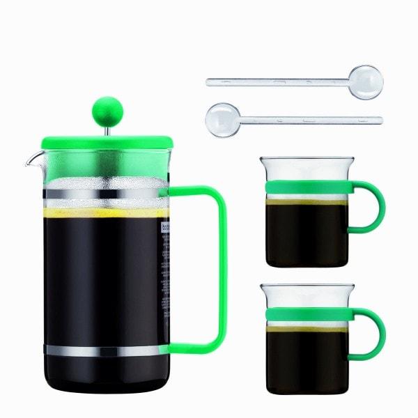 Bodum BISTRO Kaffeebereiter Set 1 l, türkis