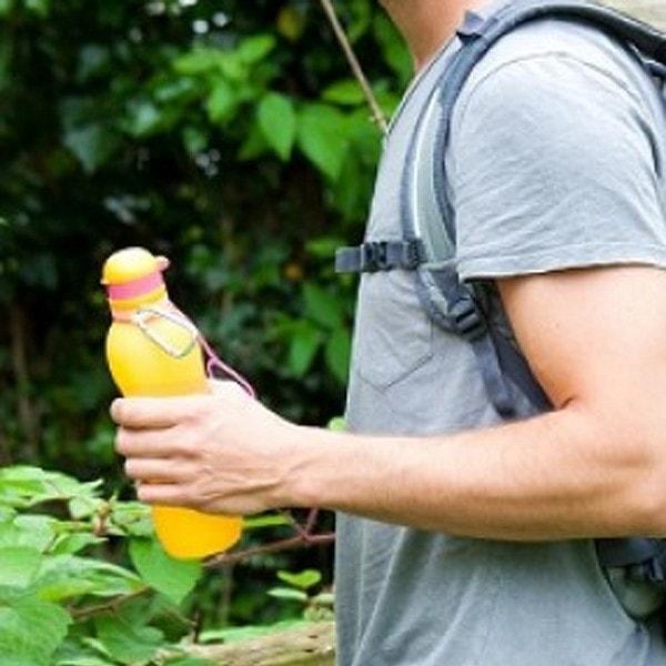 zielonka unzerbrechliche Trinkflasche Viv 0.7 l , orange
