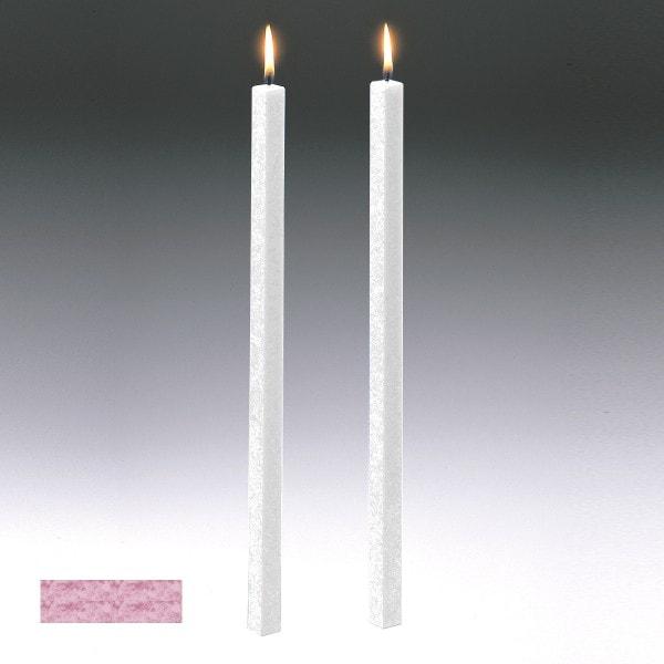 Amabiente Kerze CLASSIC malve 19cm - 4er Set
