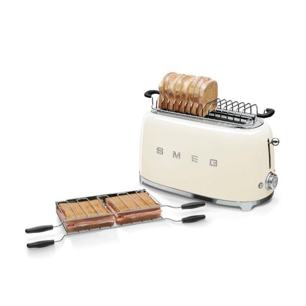 Smeg 2-Schlitz-Toaster, lang - Farbwahl