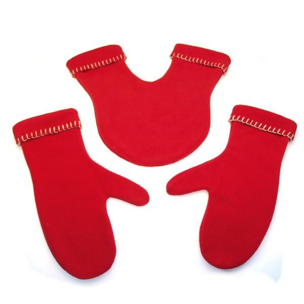Radius Handschuhe GLOVERS rot