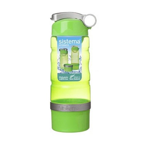sistema Trinkflasche Sport Fusion 615 ml grün