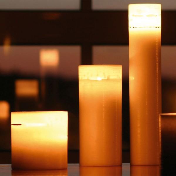 Amabiente Kerze COCOON 8x19 cm