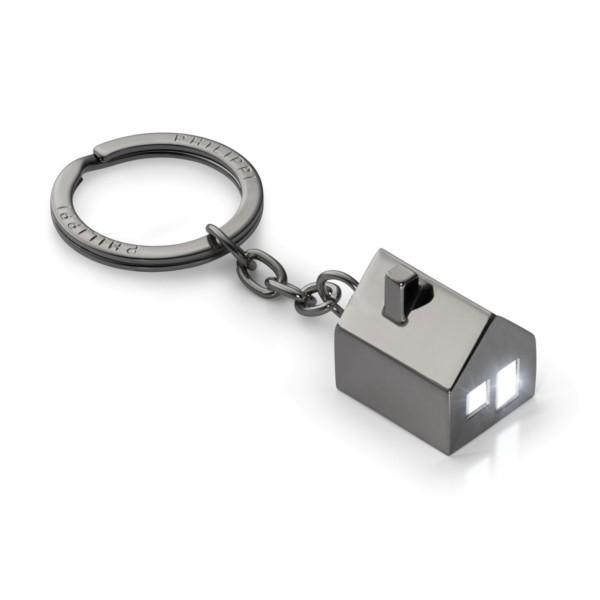 Philippi leuchtender Schlüsselanhänger HAUS, anthrazit