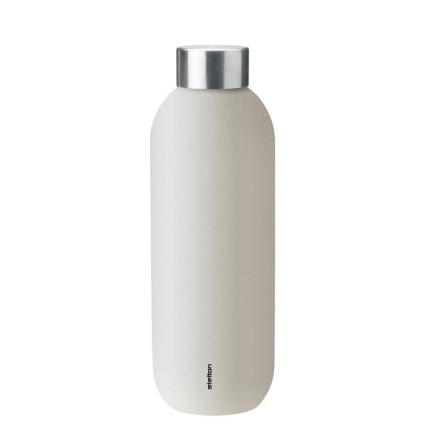 Stelton Trinkflasche KEEP COOL 0.6 l, sandfarben