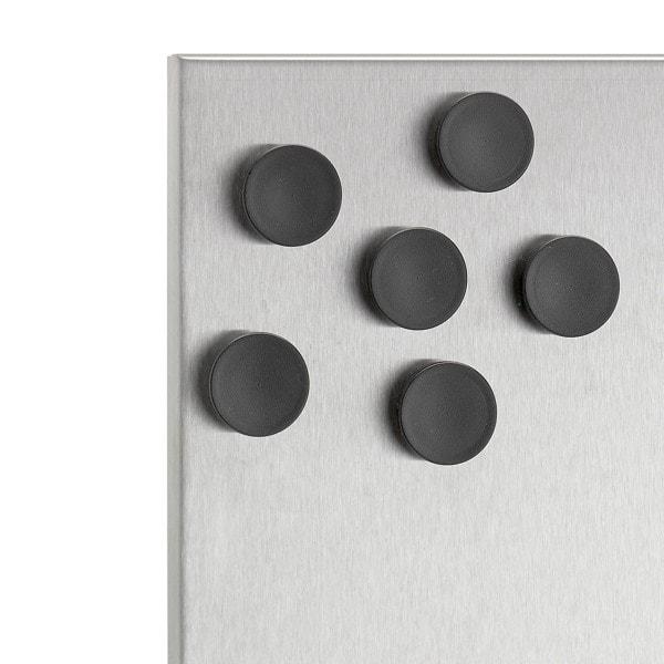 Blomus Magnete MURO 2.5 cm schwarz - 6er Set