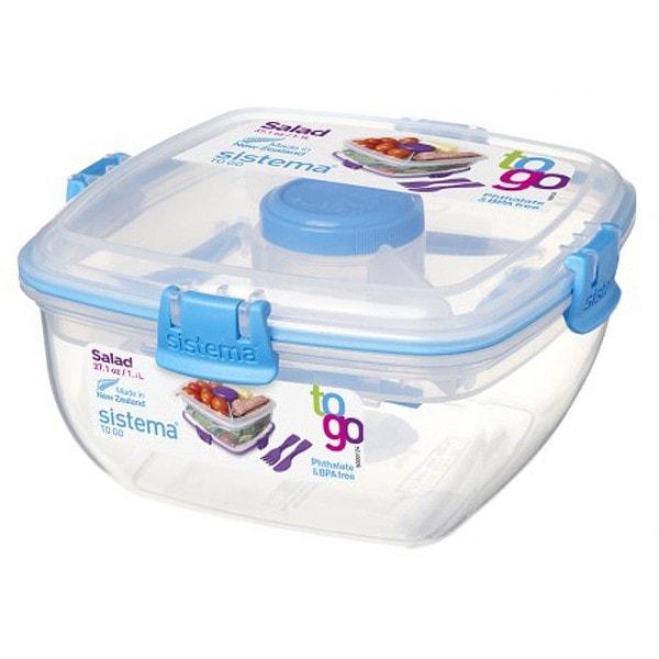 sistema Salatbox To Go, blau