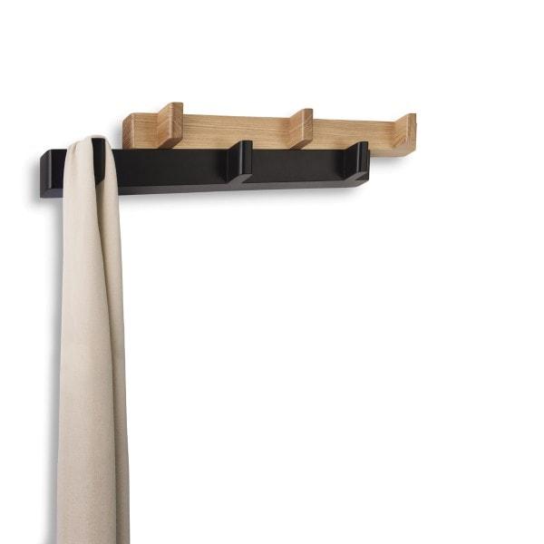 Umbra Garderobe SWITCH.HOOK 6 Haken schwarz, Natur