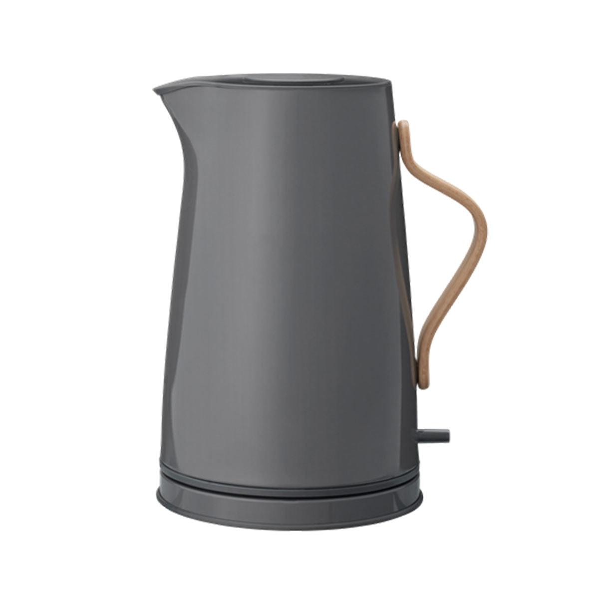 stelton emma wasserkocher grau 1 2 l wasserkocher kochen essen livingtools design. Black Bedroom Furniture Sets. Home Design Ideas