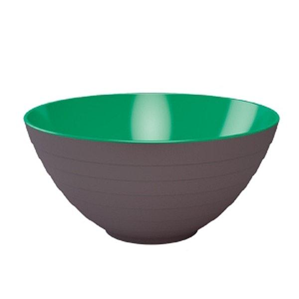 Schüssel WAVE 25 cm stein-mint