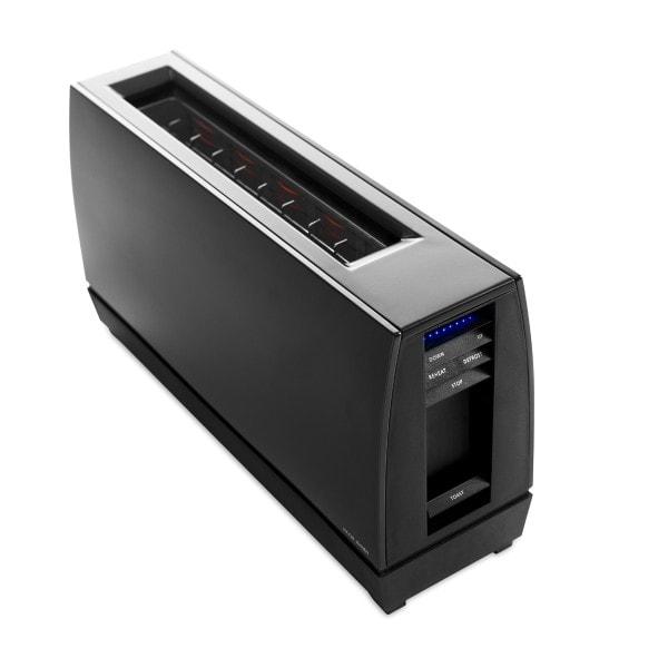 Jacob Jensen One Slot Toaster Alu mattschwarz