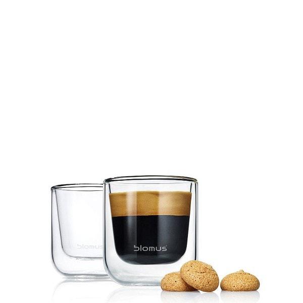 BLOMUS Espresso Gläser NERO, 2er Set