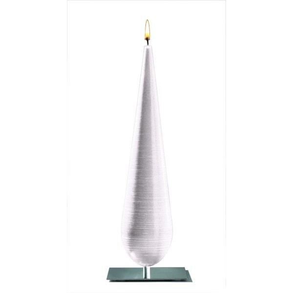 Amabiente Objektkerze CALLA weiß 36cm