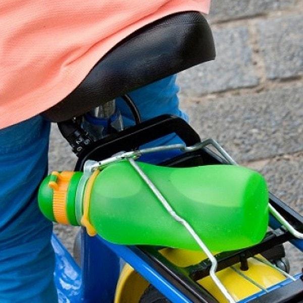 zielonka unzerbrechliche Trinkflasche Viv 0.5 l , grün