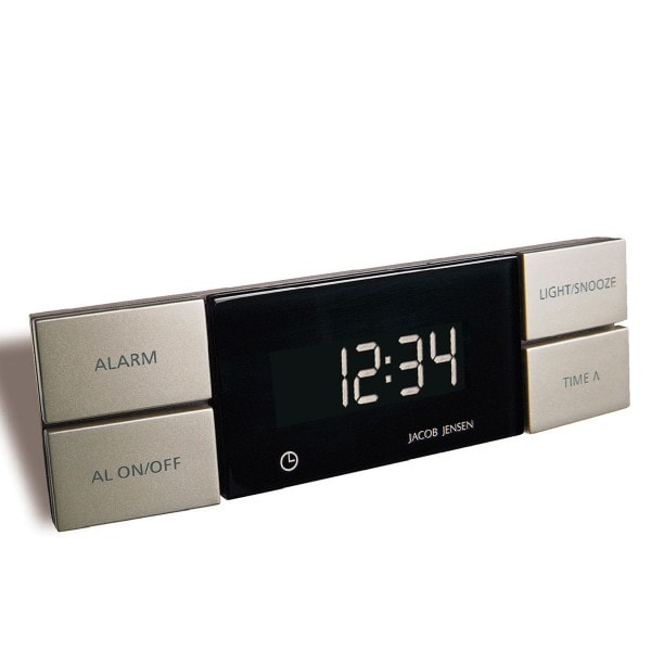 Jacob Jensen Wecker ALARM CLOCK