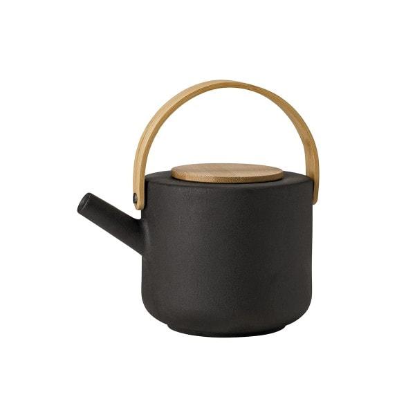 Stelton Teekanne THEO, schwarz 1.25 l