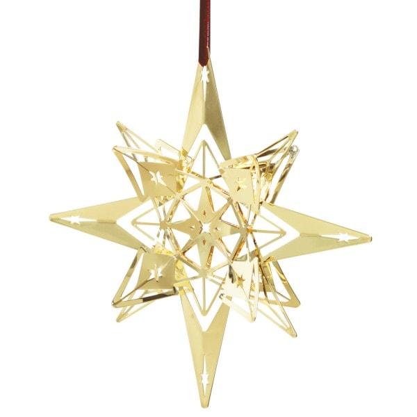 Rosendahl Weihnachtsstern vergoldet