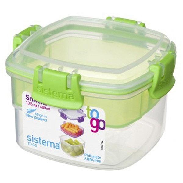 sistema Aufbewahrungsbox Snack To Go 2er Set blau, grün
