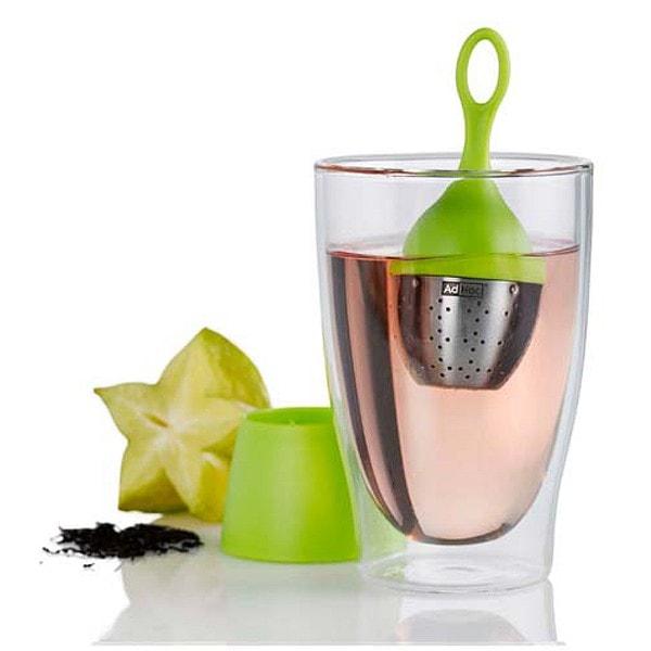 AdHoc Schwimmendes Tee-Ei FLOATEA, grün