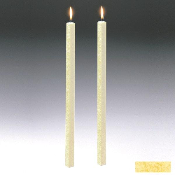 Amabiente Kerze CLASSIC Vanille 40cm - 2er Set