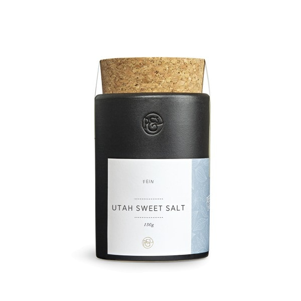 Natursalz - Utah Sweet Salt fein im Keramiktopf