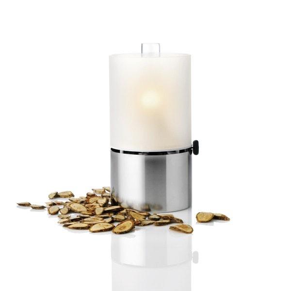 Stelton Öllampe mit Glasschirm satiniert dimmbar 1008
