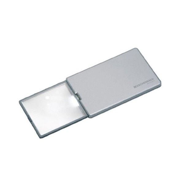 ESCHENBACH Scheckkartenlupe easyPocket silber 3x
