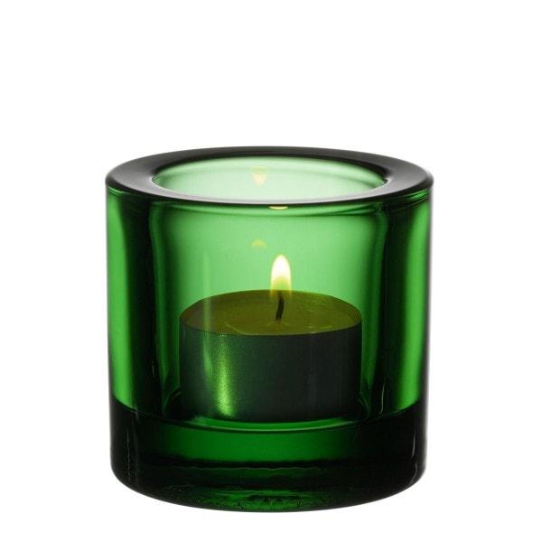 Iittala Teelichthalter KIVI grün 6 cm