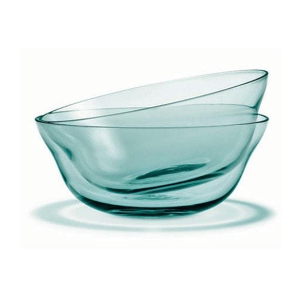 Holmegaard Schale Future, aquamarine