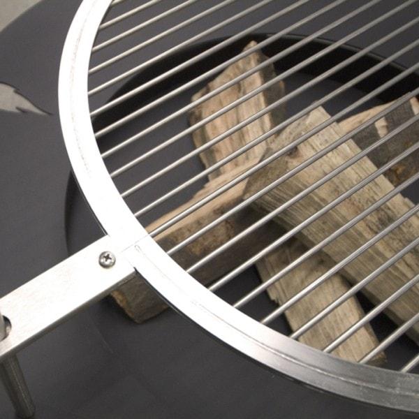 Radius Grillrost 45 cm für Feuerstelle 75 cm