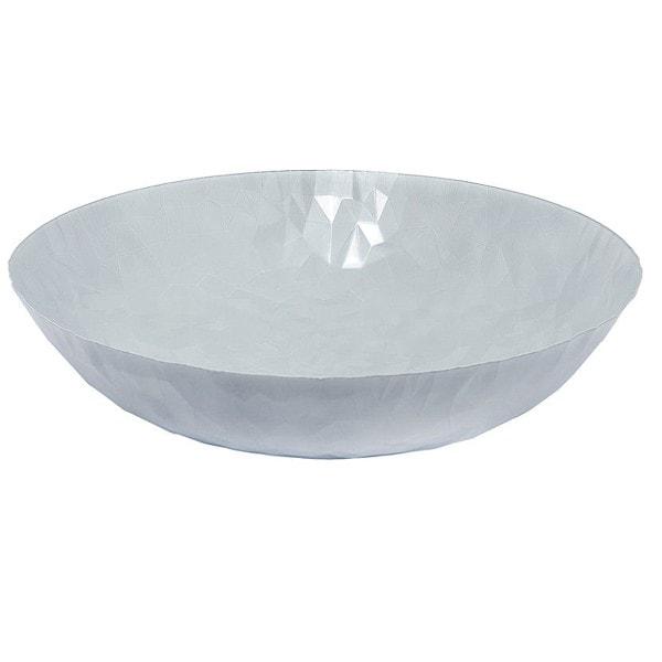 Alessi Schale Joy n.1, Centrotavola 37 cm, weiß matt
