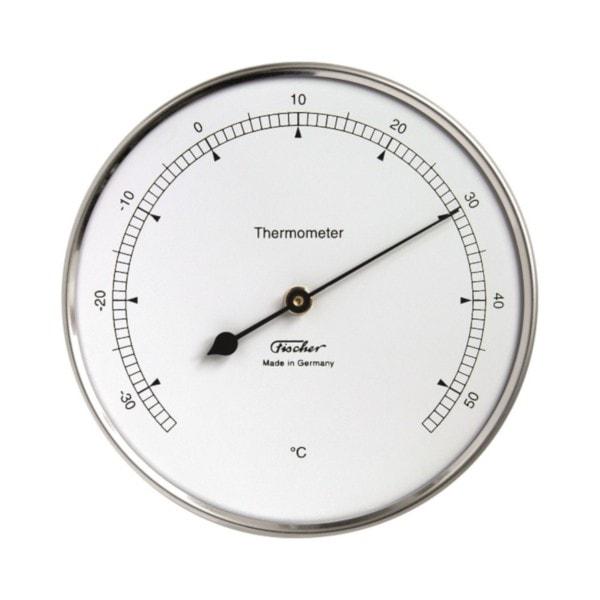 Fischer Thermometer, Außenbereich
