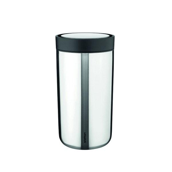 Stelton Trinkbecher To Go Click 0.2 l - steel