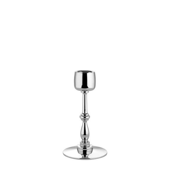 Alessi Kerzenständer silber 14 cm