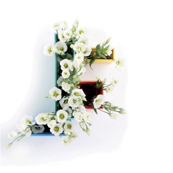 XLBOOM Vase Luca, 4er Set, weiß