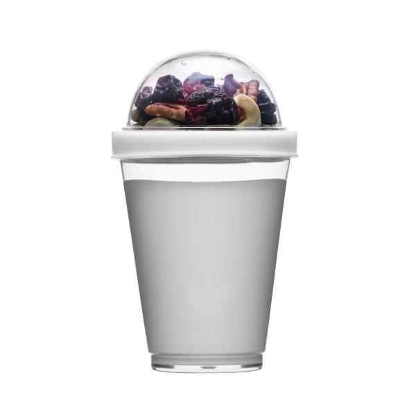 Sagaform Yoghurtbecher Fresh to go, weiß
